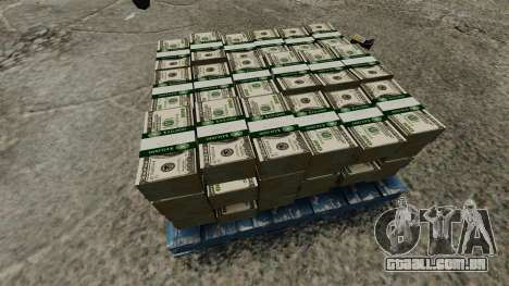 de 100 contas de Reserva Federal dos Estados Uni para GTA 4 por diante tela