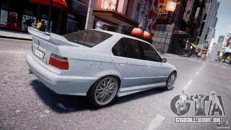 BMW 318i Light Tuning v1.1 para GTA 4 vista inferior