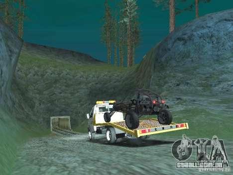 GAZ 3302 2003-2011. Caminhão de reboque para GTA San Andreas esquerda vista