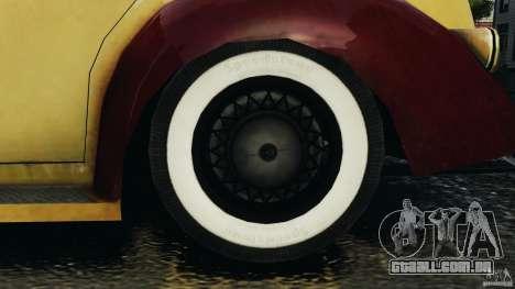 Shubert Taxi para GTA 4 vista de volta