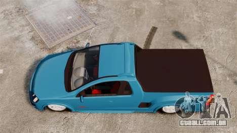 Chevrolet Montana FIXA para GTA 4 vista direita