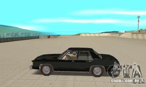 Ford LTD Crown Victoria 1985 MIB para GTA San Andreas esquerda vista