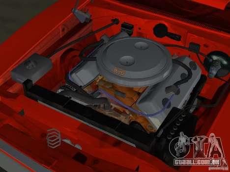 Dodge Charger 426 R/T 1968 v1.0 para GTA Vice City vista inferior
