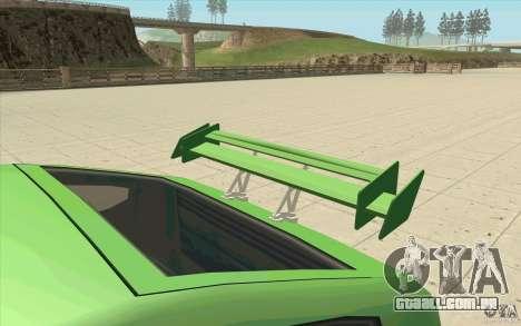 Mad Drivers New Tuning Parts para GTA San Andreas décima primeira imagem de tela