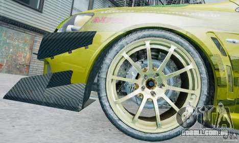 Mitsubishi Lancer X JUN para GTA 4 vista lateral