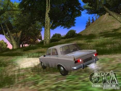 AZLK-412 para GTA San Andreas traseira esquerda vista