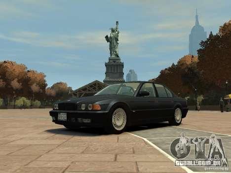BMW 750i (E38) 1998 para GTA 4
