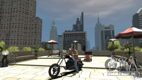 The Lost and Damned Bikes Diabolus para GTA 4 esquerda vista