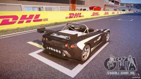 Lotus 2-11 para GTA 4 vista inferior