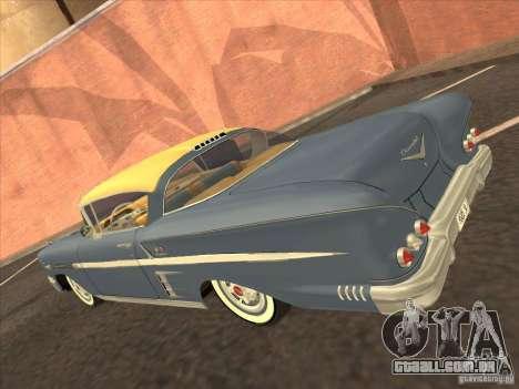 Chevrolet Impala 1958 para GTA Vice City vista traseira esquerda
