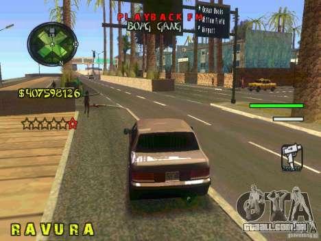 HUD Convenient and easy BETA para GTA San Andreas quinto tela