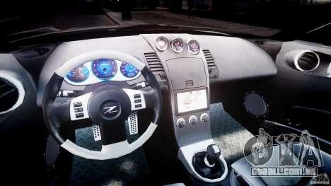 Nissan 350Z Veilside Tuning para GTA 4 vista de volta