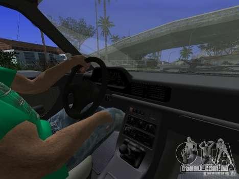 Daewoo FSO Polonez Kombi 1.6 2000 para GTA San Andreas vista traseira