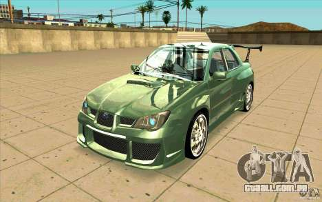 Subaru Impreza STI para GTA San Andreas