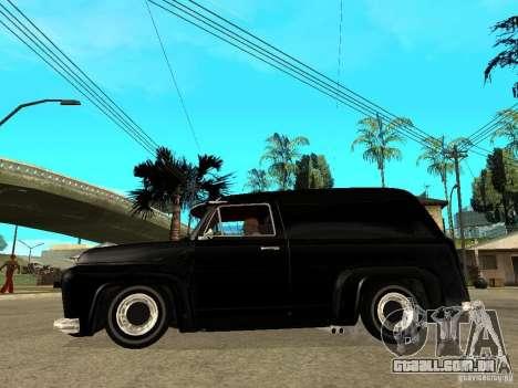 GTA IV TLAD para GTA San Andreas esquerda vista