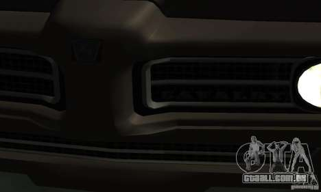 Caçador de cavalaria de Burnout Paradise para GTA San Andreas vista direita