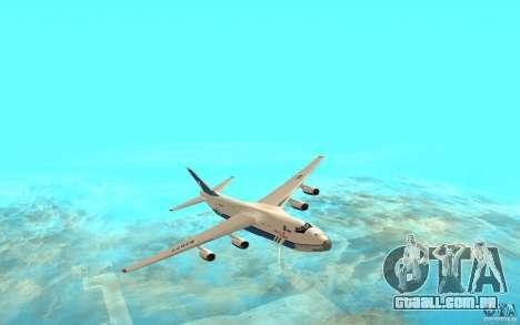 O an-124 Ruslan para GTA San Andreas