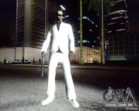 Traje branco para GTA San Andreas