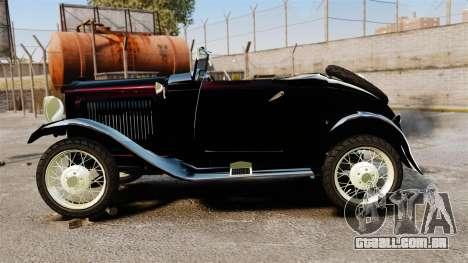 Ford Model T Sabre 1924 para GTA 4 esquerda vista