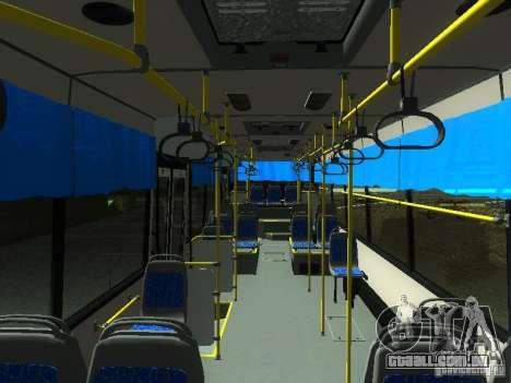 Nefaz 5299 10-32 para GTA San Andreas vista interior