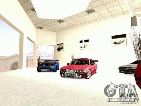BMW 740i Tuned For Drift para GTA San Andreas vista direita