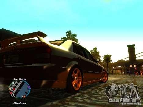 Mazda Mazdaspeed Familia 2001 para GTA San Andreas vista direita