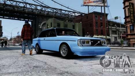 Volvo 242 v2 para GTA 4 esquerda vista