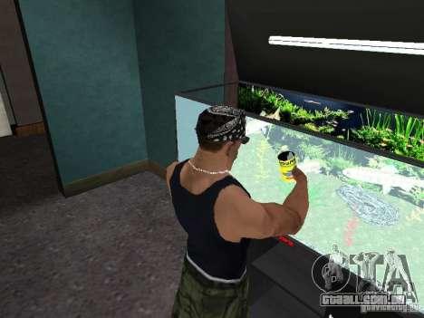 Aquário para GTA San Andreas quinto tela