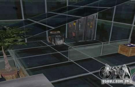 Chalé de dois andares para GTA San Andreas terceira tela