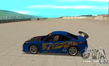 Nissan Silvia INGs +1 para GTA San Andreas esquerda vista