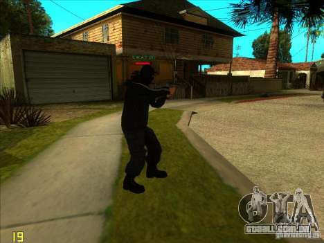 SkinHead (Football fan) para GTA San Andreas terceira tela