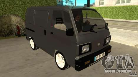 Suzuki Carry Blind Van 1.3 1998 para GTA San Andreas vista traseira