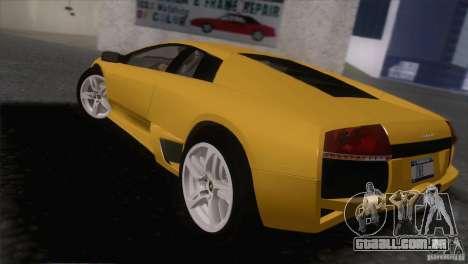Lamborghini Murcielago LP640 2006 V1.0 para GTA San Andreas esquerda vista