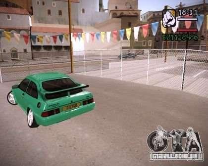 Ford Sierra Drift para GTA San Andreas vista direita