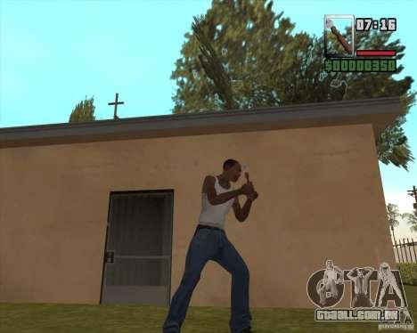 Abridor para GTA San Andreas segunda tela