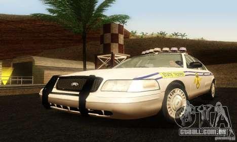 Ford Crown Victoria South Carolina Police para GTA San Andreas