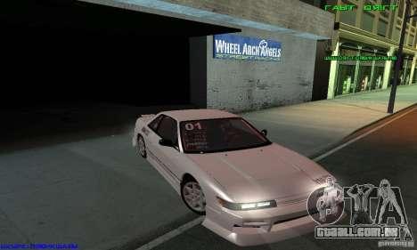 Nissan Silvia S13 Tunable para as rodas de GTA San Andreas