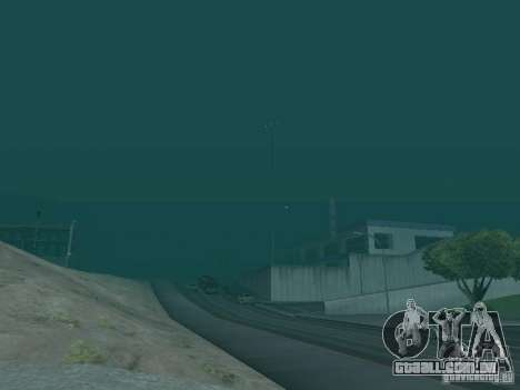 Weather manager para GTA San Andreas terceira tela