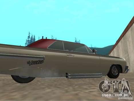 Vodu do GTA 4 para GTA San Andreas traseira esquerda vista
