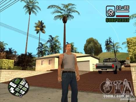 Cj branco para GTA San Andreas