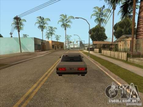 Carro graduado de travagem para GTA San Andreas