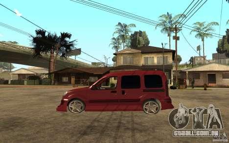 Renault Kangoo Tuning para GTA San Andreas esquerda vista