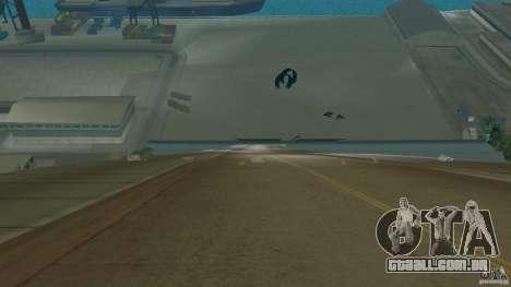Stunt Dock V1.0 para GTA Vice City por diante tela