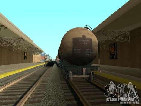 Tanque n. º 68T 53911384 para GTA San Andreas traseira esquerda vista