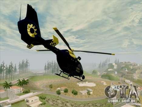 Eurocopter EC-135 Essex para GTA San Andreas esquerda vista