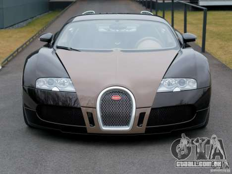 Carregamento telas Bugatti Veyron para GTA San Andreas quinto tela
