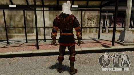 Geralt de Rivia v2 para GTA 4 terceira tela