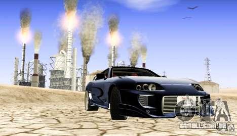 Toyota Supra para GTA San Andreas esquerda vista