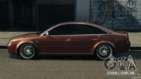 Audi RS6 2003 para GTA 4 esquerda vista