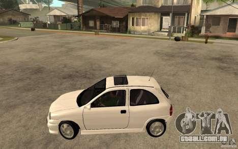 Opel Corsa GSI 16V para GTA San Andreas esquerda vista